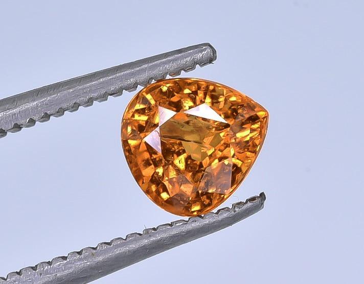 1.01 Crt Spessartite Garnet Faceted Gemstone (R47)
