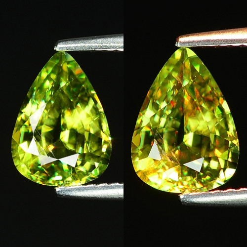 Mind Blowing Fire 2.16 Cts Chrome Sphene ~ SG3