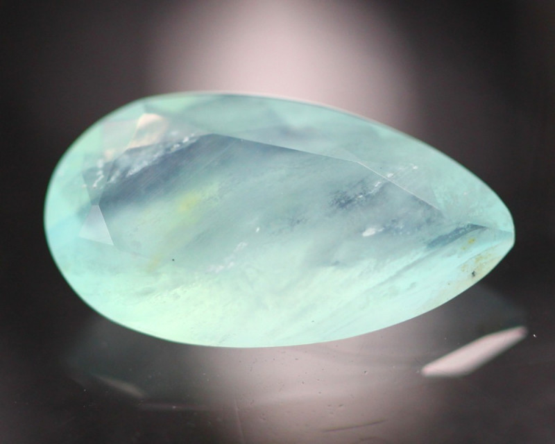 Peruvian Opal 1.57Ct Natural Paraiba color Opal BJ01