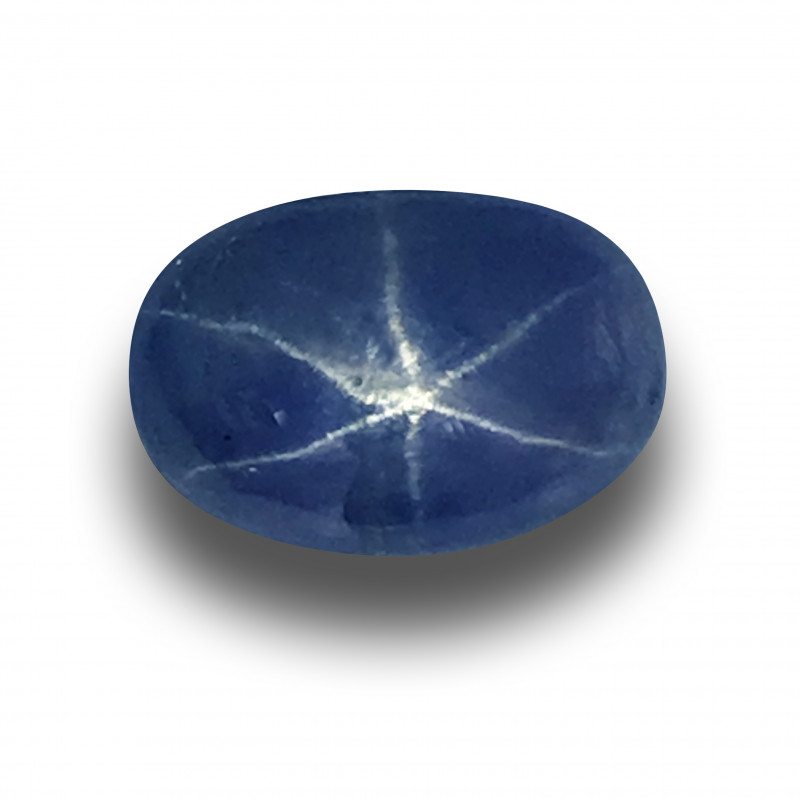Natural Unheated Six-Ray Star Sapphire | Sri Lanka - New