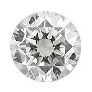 0.15 Carat Natural Round Diamond (G/SI) - 3.40 mm