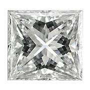0.09 Carat Princess Cut Diamond (G/SI) - 2.40 mm