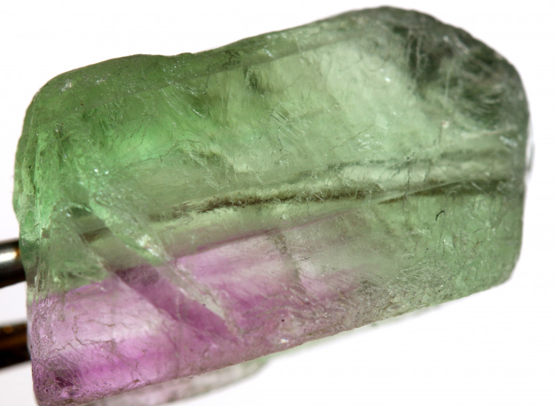 30.5 CTS  FLUORITE DRILLED BEAD NP-81