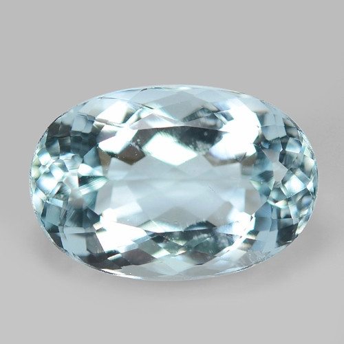 7.89 CTS  SKY BLUE COLOR NATURAL AQUAMARINE LOOSE GEMSTONE