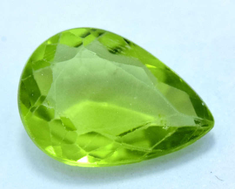 NR Auction 3.60 Carats Olivine Green Natural Peridot Gemstone