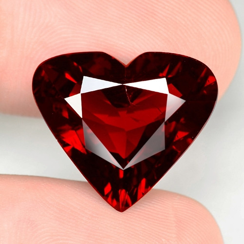 14.84 Cts World Very Rare Red Color Natural Spessartite Garnet Gemstone