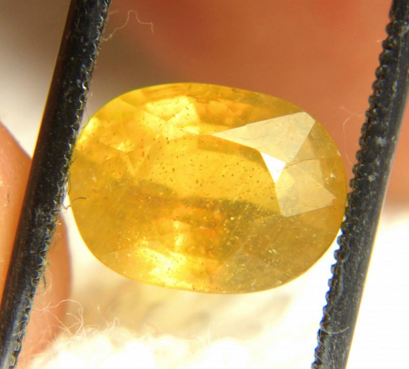 4.04 Carat Golden Yellow SI Sapphire - Gorgeous