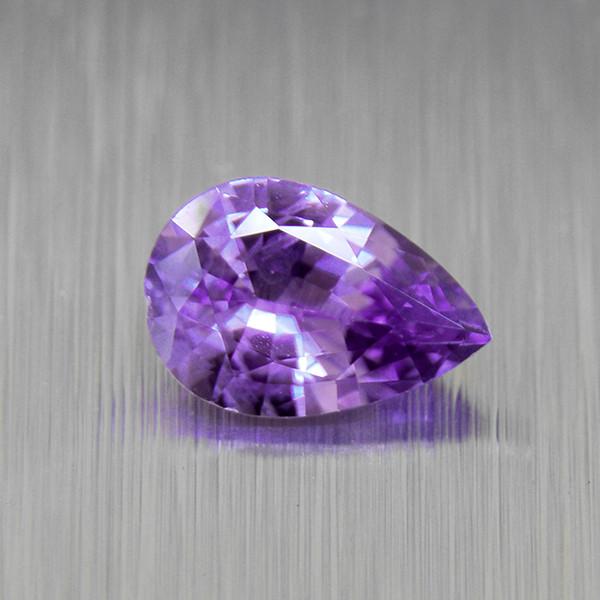 Ceylon Purple Sapphire 0.41ct Pear (01676)