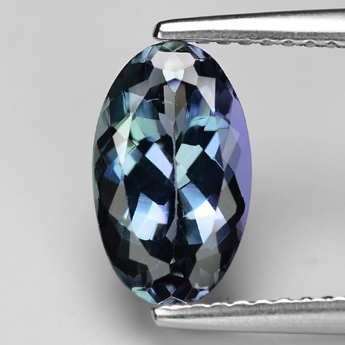 2.11 Carat Violetish Blue Color Natural Tanzanite Loose Gemstone