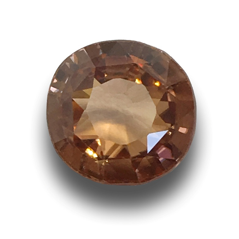 Natural unheated ORANGE Zircon  Loose Gemstone  Sri Lanka - New