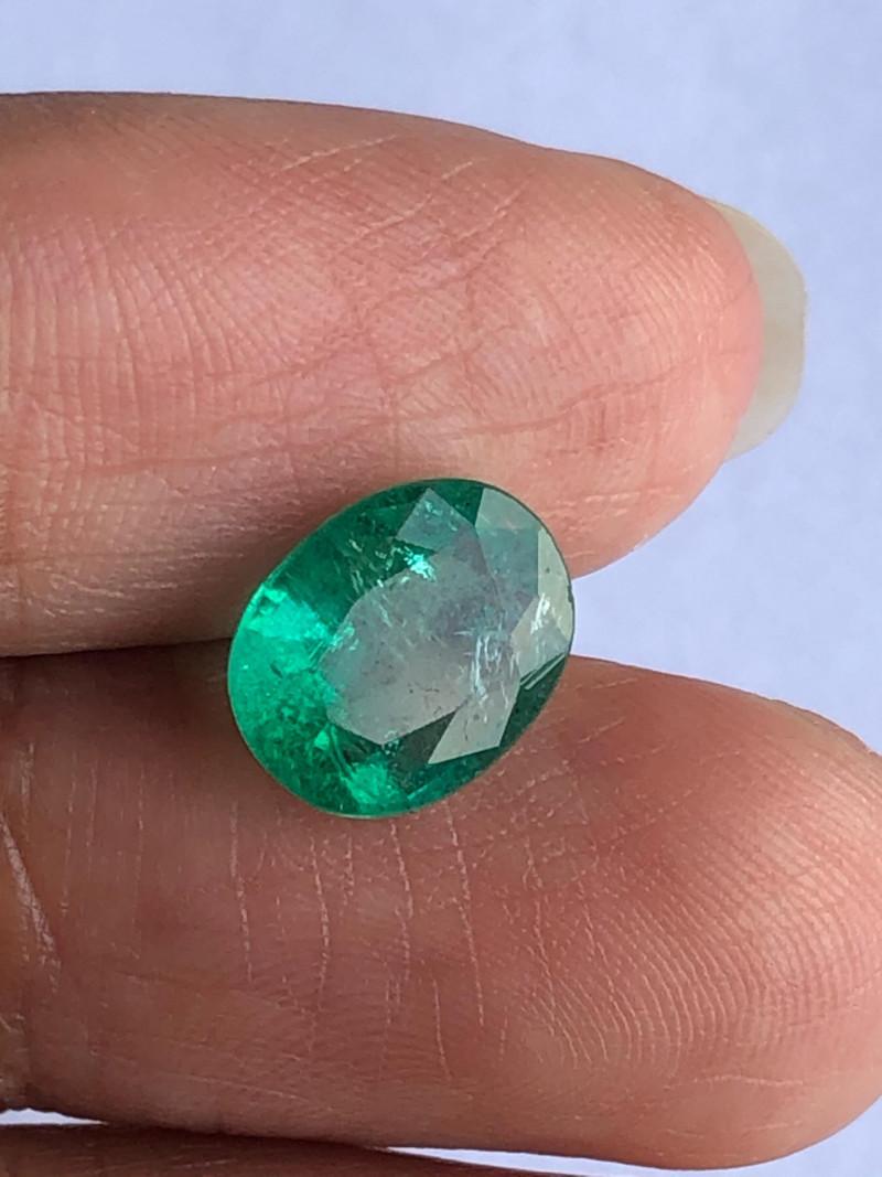 2.08ct. Lab Certified Zambian Emerald