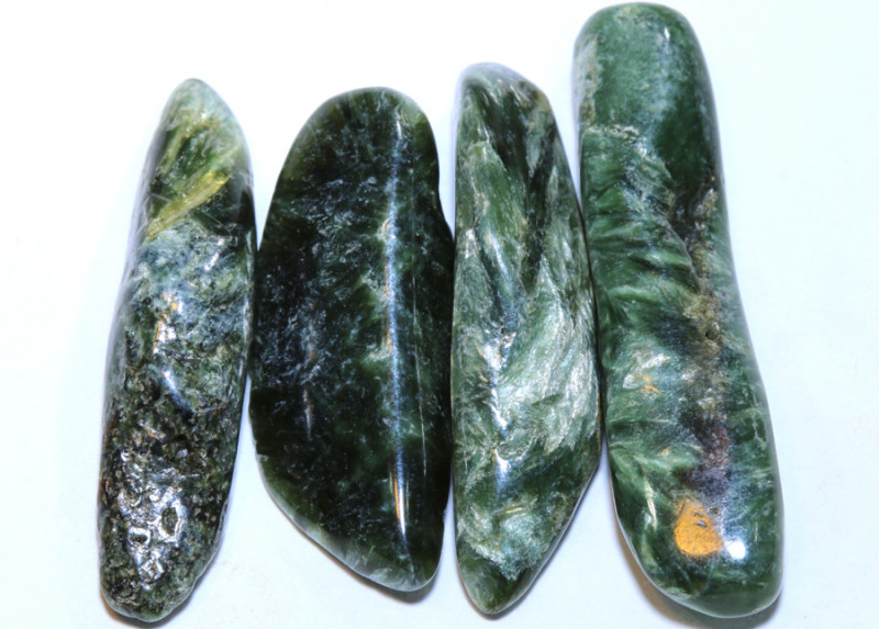 43 CTS GREEN SERAPHINITE  PARCEL ADG-387