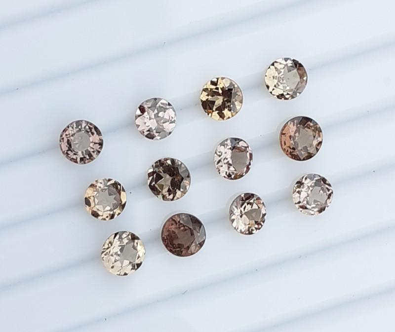 3.56Cts  Color Change Garnet Gems.