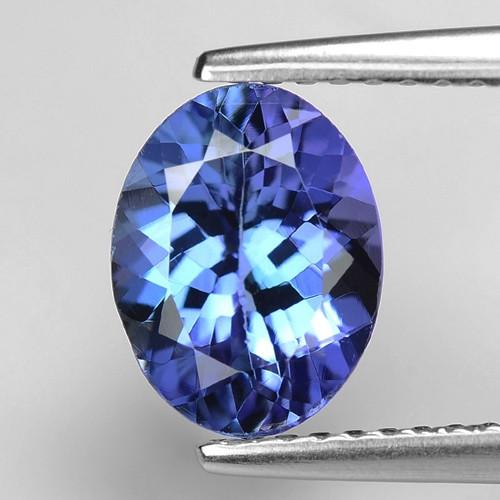 1.83 Cts Violet Blue Color Natural Tanzanite Gemstone