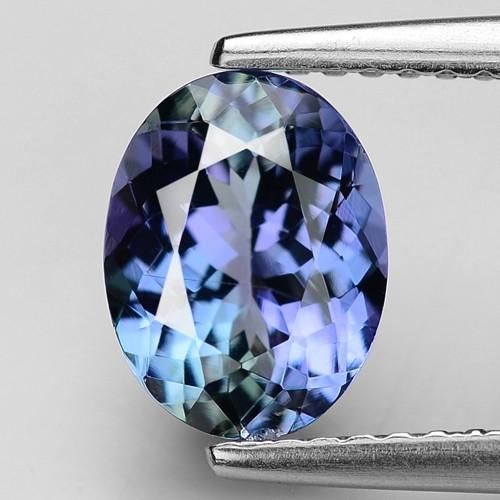 1.73 Cts Violet Blue Color Natural Tanzanite Gemstone