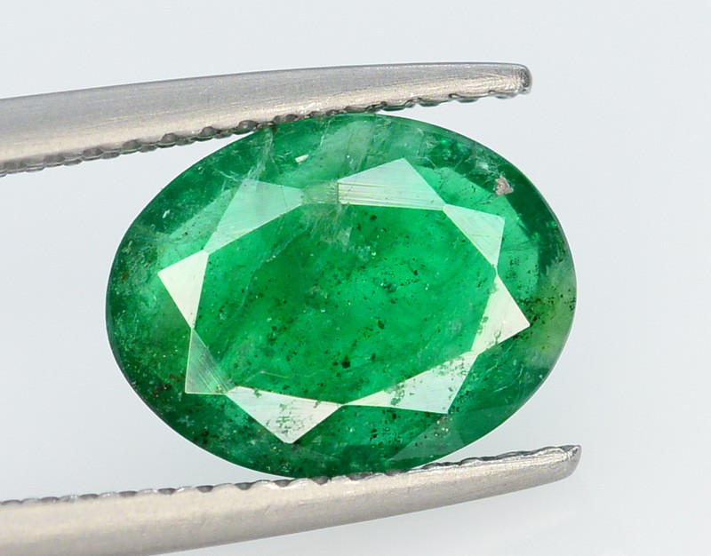 Top Color 1.90 Ct Natural Emerald From Swat