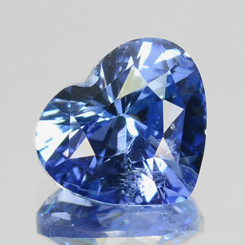 1.56 Cts Genuine Natural Corundum Blue Sapphire Srilanka Unheated Gem