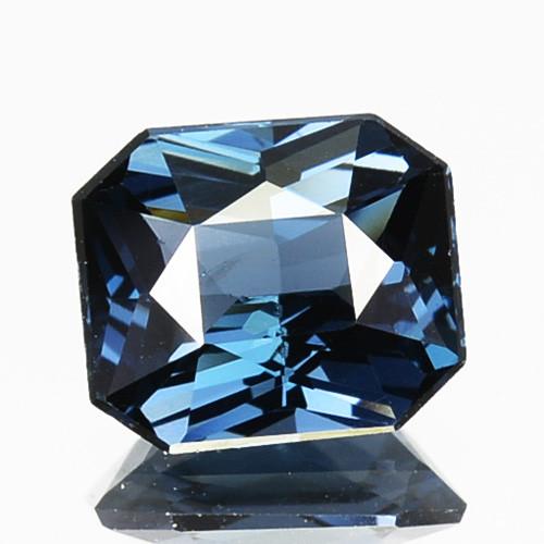 ~BEAUTIFUL 1.04 Cts Natural Blue Spinel Emerald Cut Srilanka Gem