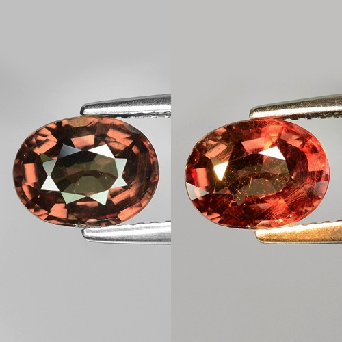 Rarest Garnet 2.48 Cts Phenomenal Full Color Change Madagascar CC3