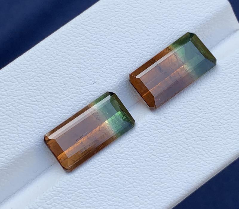 10.14 Carats Natural Bi Color Tourmaline Gemstone