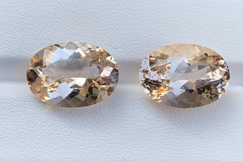 22.90 Carats Morganite Gemstones