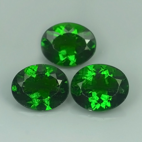 9.50 CTS ATTRACTIVE ULTRA RARE NATURAL CHROME DIOPSIDE
