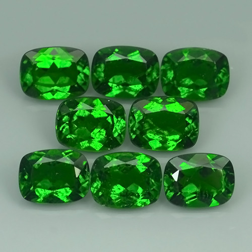 17.80 CTS MARVELOUS RARE NATURAL TOP GREEN- CHROME DIOPSIDE DAZZLING