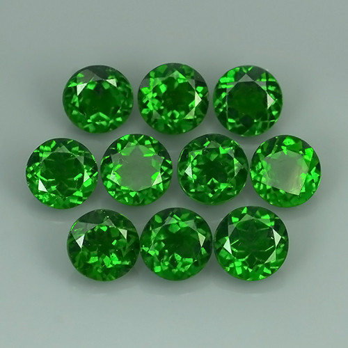 15.60 CTS ATTRACTIVE ULTRA RARE NATURAL CHROME DIOPSIDE