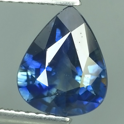 CERTIFIED 2.370 CTS AWESOME BLUE SAPPHIRE HEATED FACETED GENUINE
