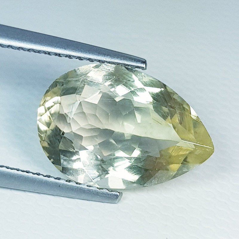 4.75 ct Top Quality Gem Stunning Pear Cut Natural Scapolite