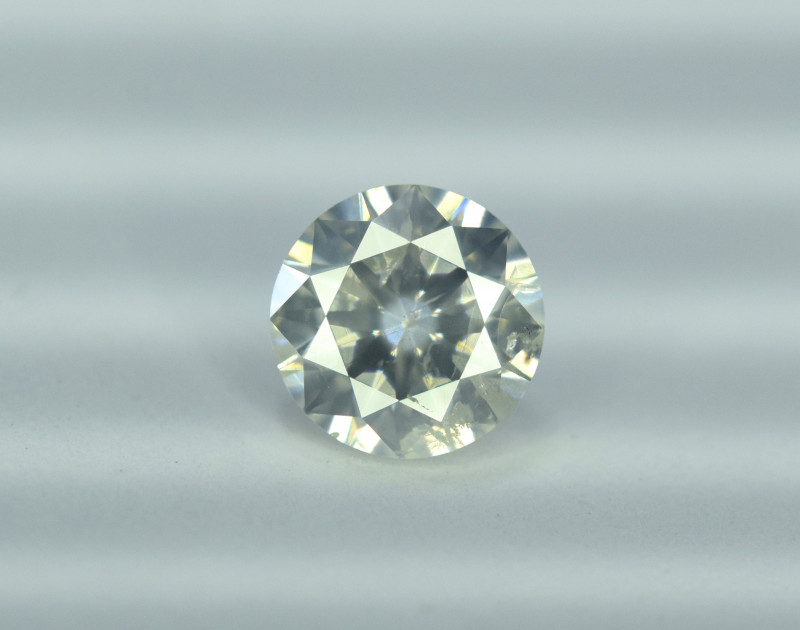 GIL Certified 0.73 cts Natural White Diamond