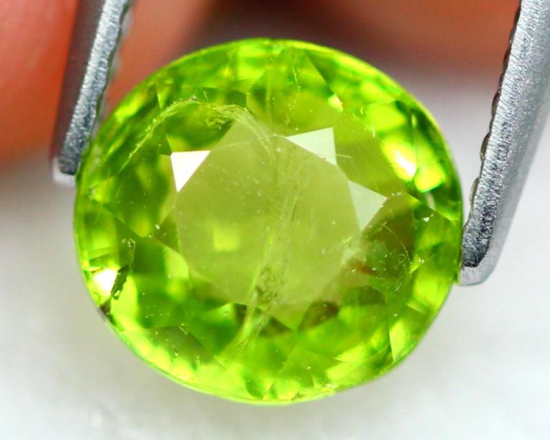 Grossular 1.99Ct Natural Green Color Grossular Garnet D2301