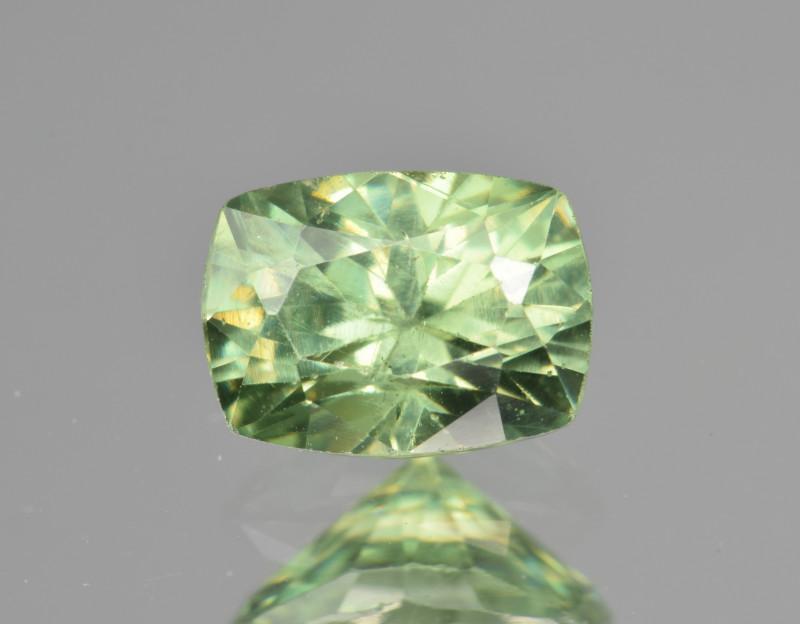 Natural Demantoid Garnet 1.26 Cts, Full Sparkle Faceted Gemstone