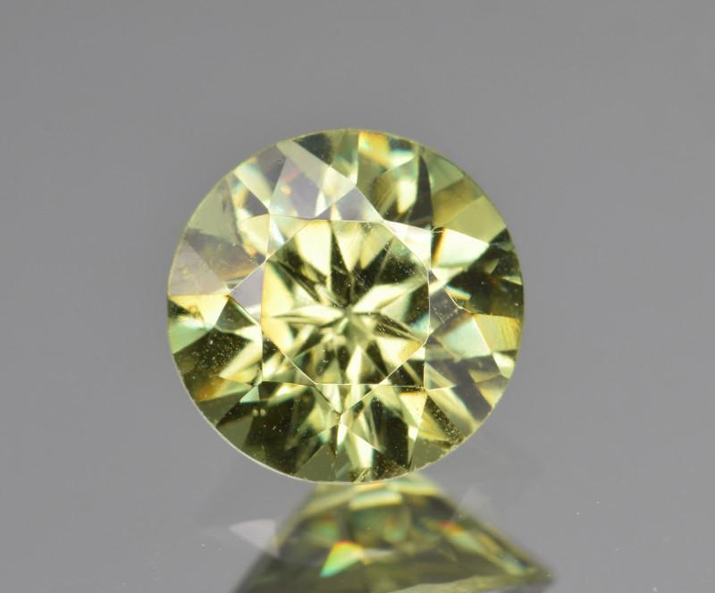 Natural Demantoid Garnet 1.33 Cts, Full Sparkle Faceted Gemstone