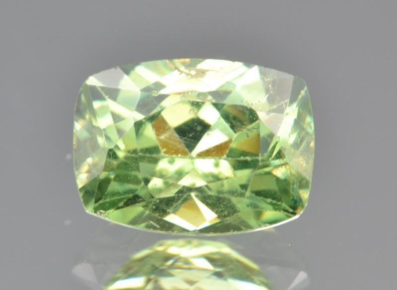 Natural Demantoid Garnet 1.39 Cts, Full Sparkle Faceted Gemstone