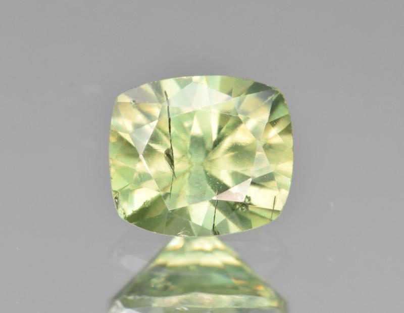 Natural Demantoid Garnet 1.48 Cts, Full Sparkle Faceted Gemstone