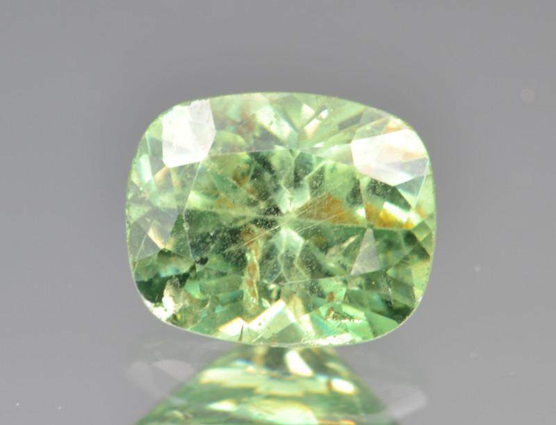 $5500/- Natural Demantoid Garnet 1.62 Cts, Full Sparkle Faceted Gemstone