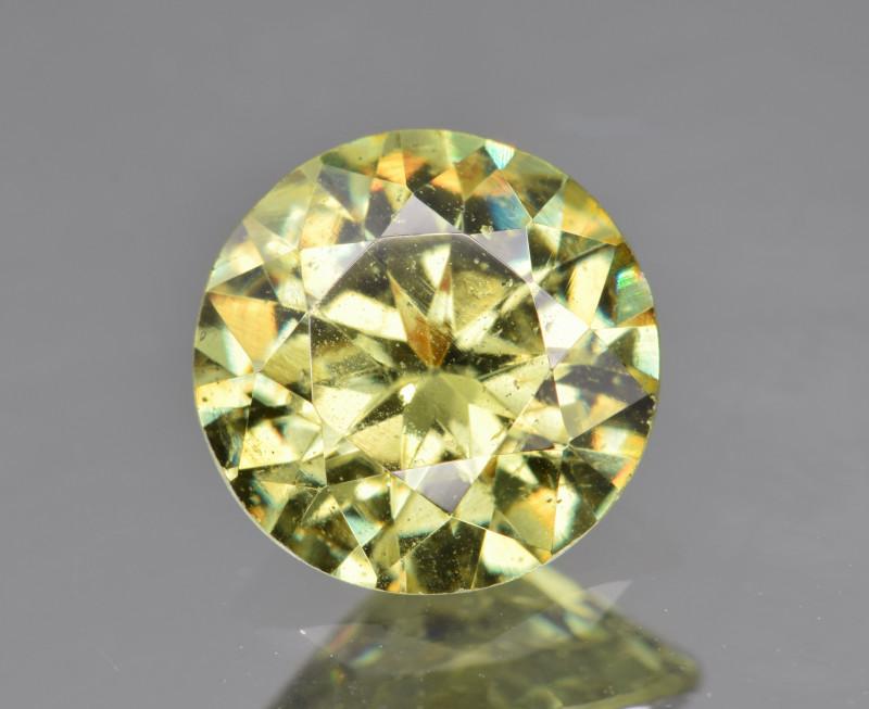 Natural Demantoid Garnet 1.68 Cts, Full Sparkle Faceted Gemstone