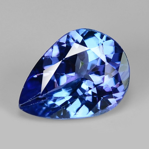 0.95 Cts Sparkling Violet Blue Color Natural Tanzanite Gemstone