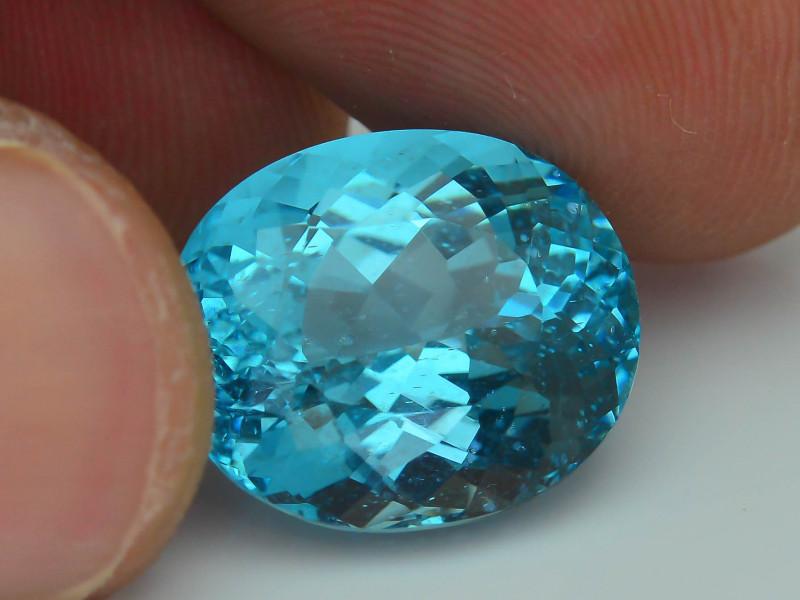 Rare 11.35 ct Amazing Luster Blue Apatite SKU.7