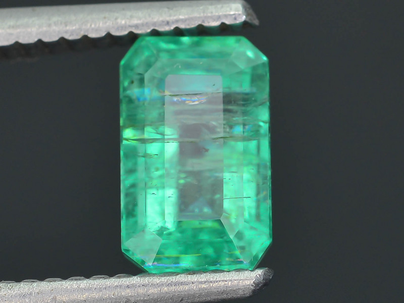 1.83 ct Zambian Emerald Vivid Green Color SKU-30