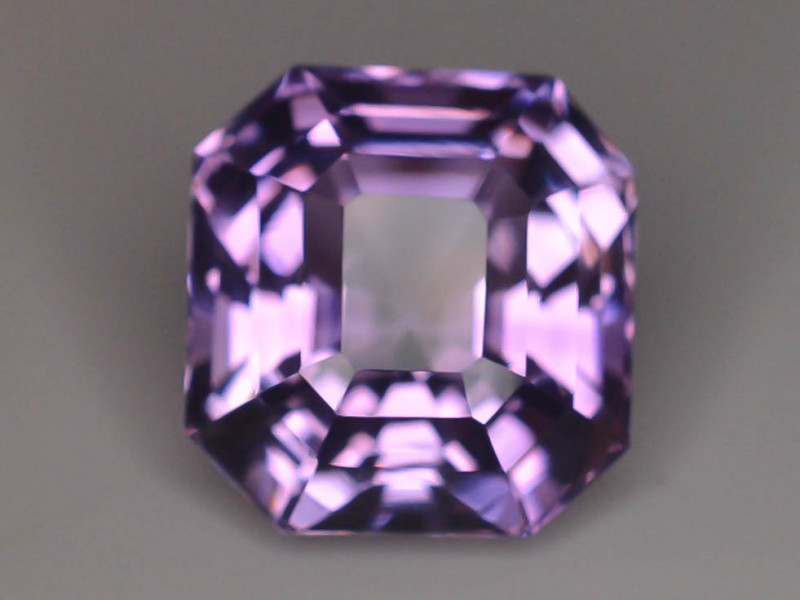 10.95 CT Natural Gorgeous Color Fancy Cut Amethyst ~  H