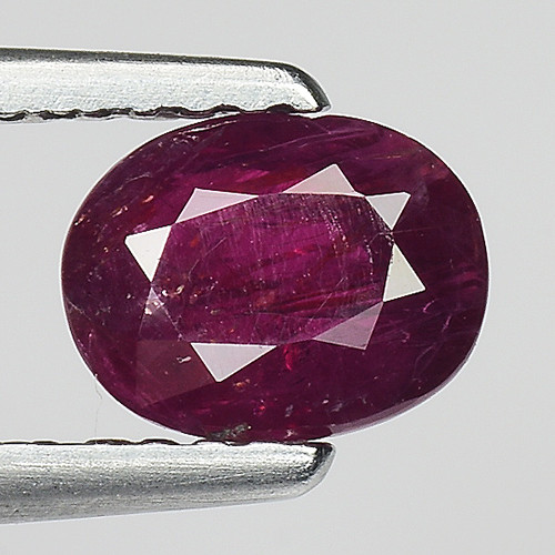 1.06 Ct Natural Ruby Unheated Mozambique Quality Gemstone. RB 46