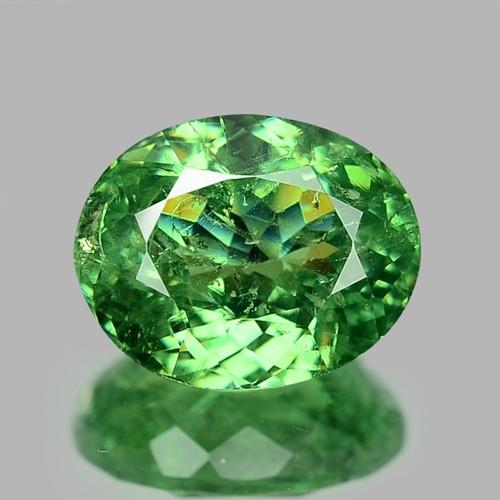 1.80 Cts Untreated Color Changing Natural Demantoid Garnet Gemstone