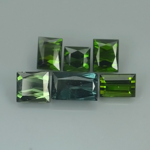 6.40 CTS DAZZLING NATURAL GREEN TOURMALINE MOZAMBIQUE