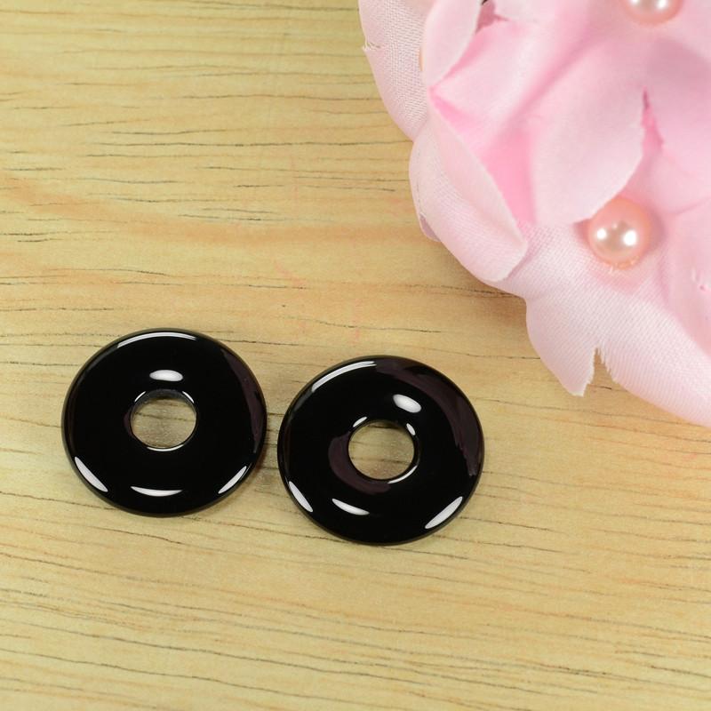 20.59 Cts 100% Natural pair Of Black Onyx Loose Gemstone