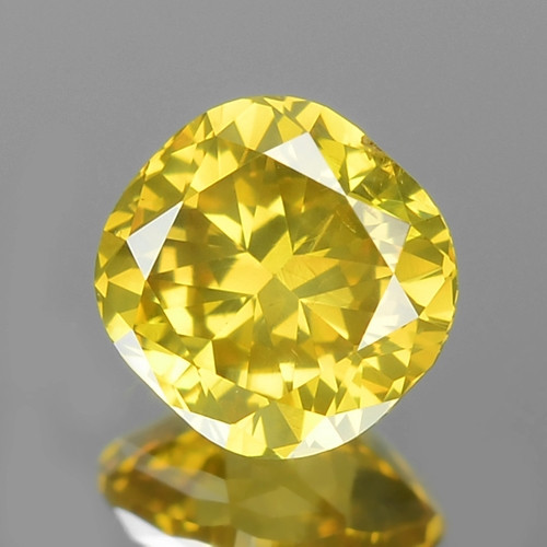 0.47 UNTREATED FANCY YELLOW NATURAL LOOSE DIAMOND