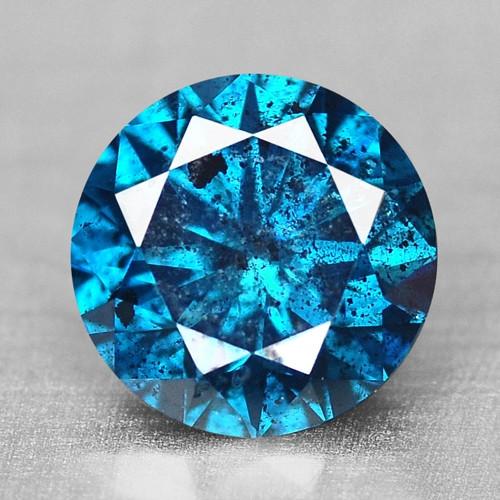 0.60 Cts SPARKLING RARE FANCY BLUE COLOR NATURAL DIAMOND
