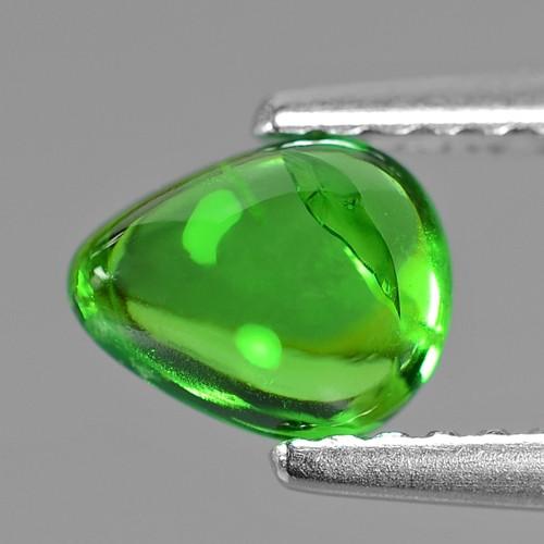 0.92 Cts Untreated Earth mined Green Color Natural Tsavorite Garnet Gemston