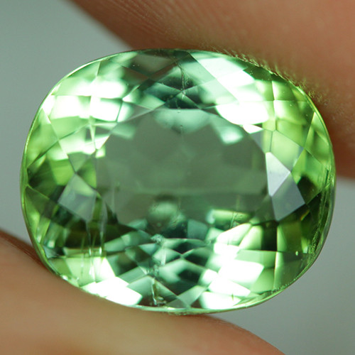 4.64 ct  ct CERTIFIED  Copper Bearing Mozambique Paraiba Tourmaline-PR508